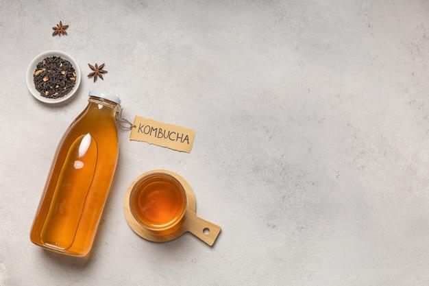 Kombucha bottle with