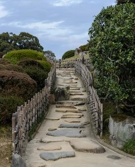 Korakuen garden in okayama, japan