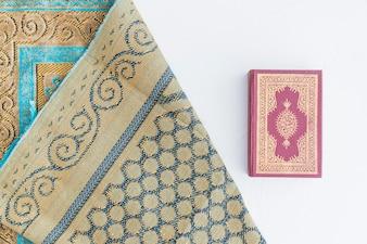 Koran book and carpet