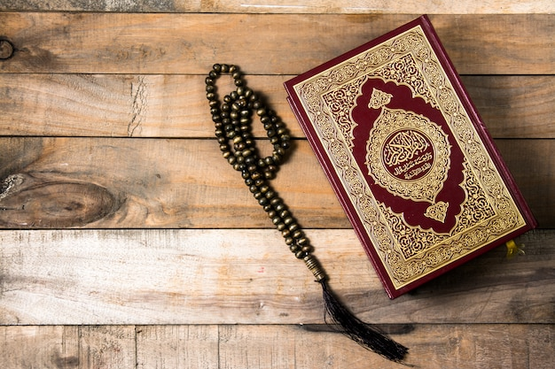 Koran , holy book of muslims