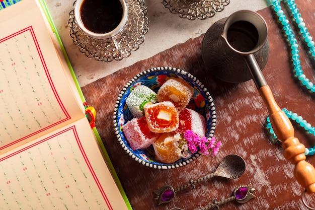 Koran, tea and turkish delight