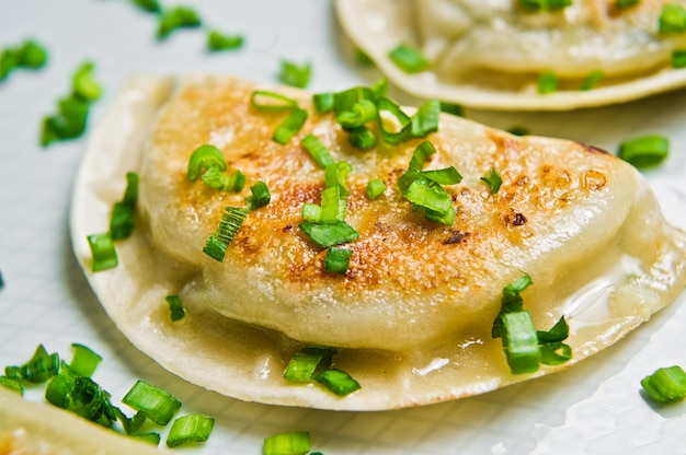 Korean fried dumplings.