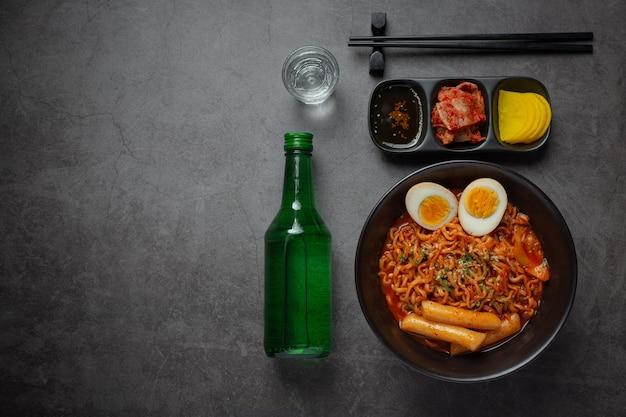 한식라면과 떡볶이, 한국 매운 소스, 고대 음식