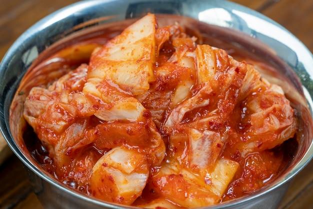 Корейский маринад и приправа острые традиционные корейские блюда салат кимчи с овощами