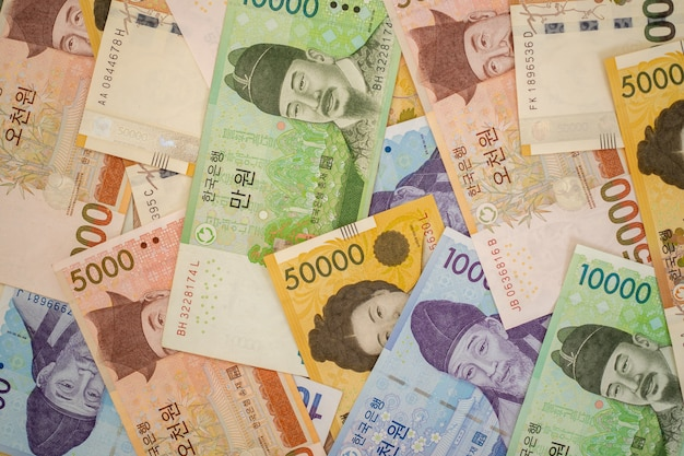 한국 원화 지폐