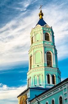 ロシアのクルスク州、スヴォボダにある修道院、コレンナヤ・プスティン