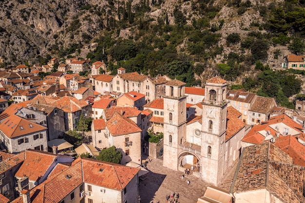 Kotor old tiny villages, medieval towns and scenic mountains.