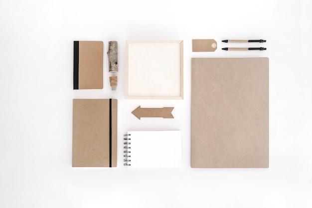 Kraft paper office supplies