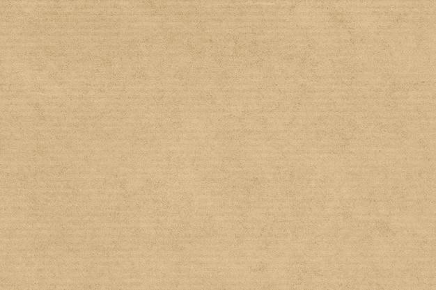 クラフト紙のテクスチャの背景。薄茶色