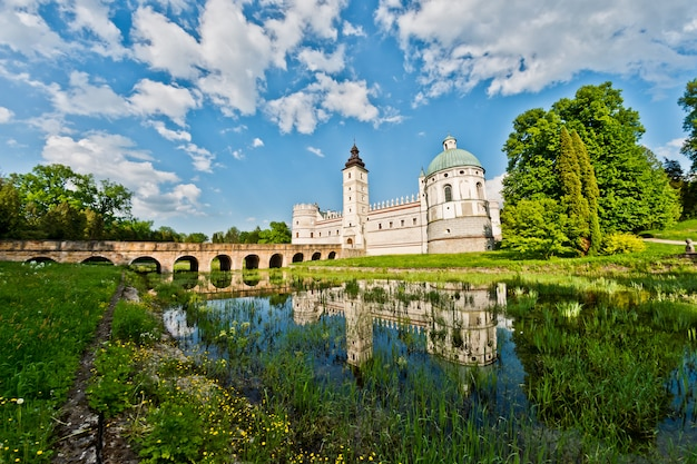Krsaiczyn castle in poland