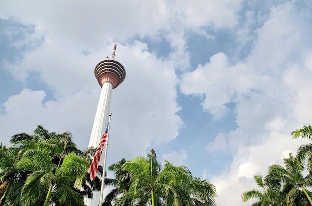 Kuala lumpur tower in kuala lumpur, malaysia. Premium Photo