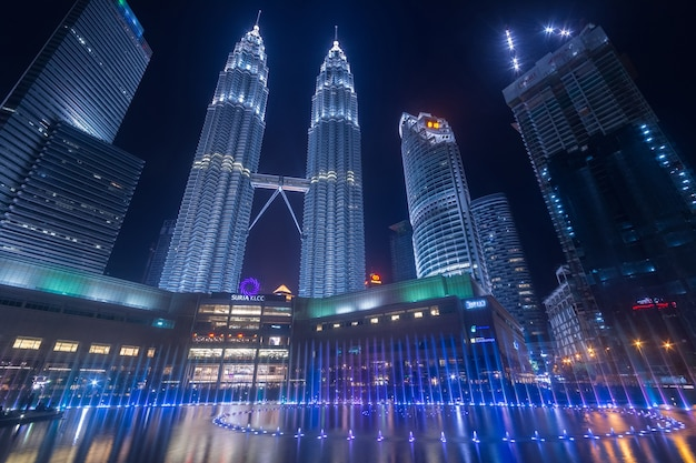 Kualalumpur skyline at malaysia
