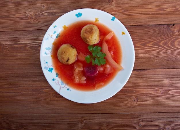 Суп куббе - левантийское блюдо из бургула.