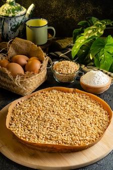 Kue hok lopanまたはmartabakbangkaはインドネシアのデザートです
