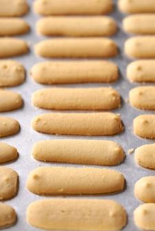 Kuelidahkucingまたはkattetongビスケット。イードムバラクの伝統のためのイスラムのクッキービスケット