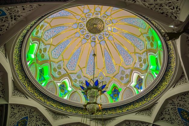 내부 카잔 크렘린에 있는 kul sharif 모스크. 카잔. 러시아.
