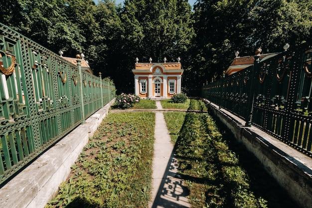 러시아 모스크바의 쿠스코보 저택. kuskovo 저택은 모스크바의 여름 거주지 인 xviii 세기의 독특한 기념물입니다.