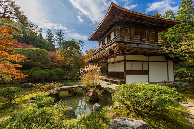 Kyoto ginkakuji temple