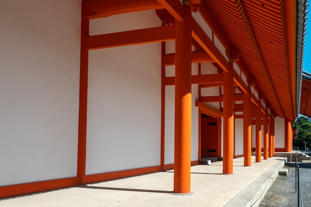 The kyoto imperial palace japan
