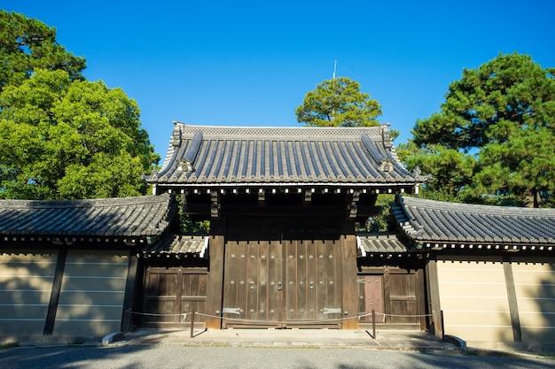 Kyoto imperial palace zen garden villa, japan