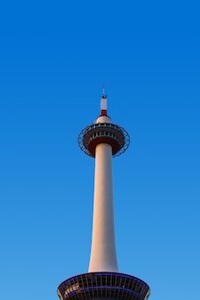 Kyoto tower is the tallest steel structure and a major tourist attraction in kansai region