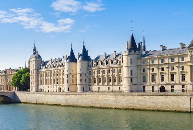 La conciergerie - ex royal palace and prison at summer day, paris, france
