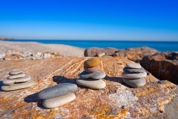 La llosa beach in castellon of spain