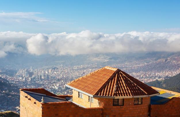 볼리비아, 남미의 라 파스 도시
