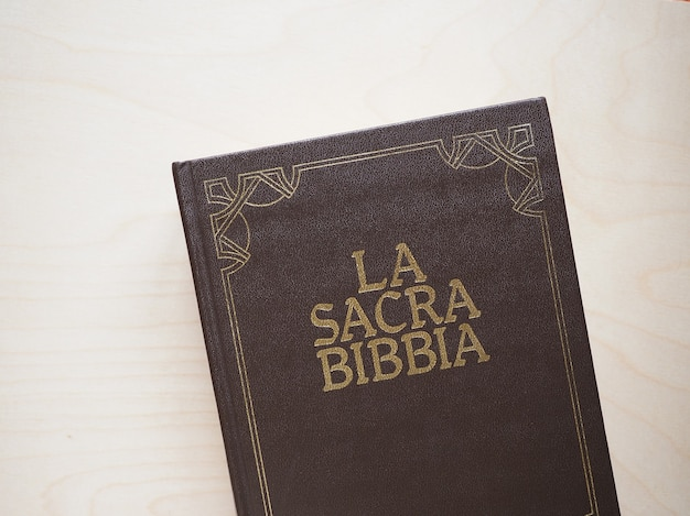 La sacra bibbia (성경) 책