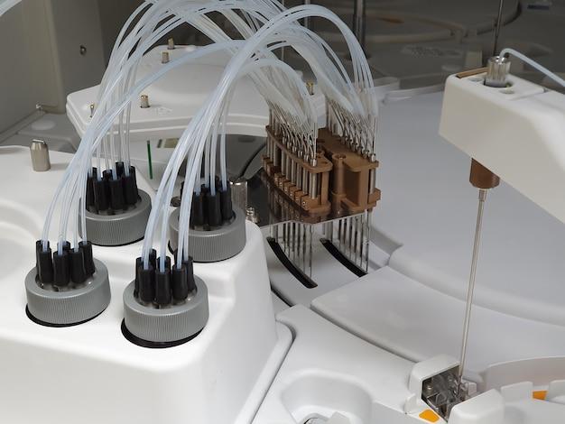 Лаборатория автоматизации лаборатории науки в больнице