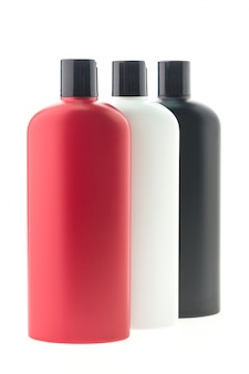 Label tube blue hygiene blank