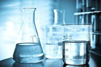 Laboratory glassware for chemical research