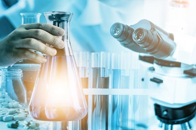 실험실 연구 개발 산업.