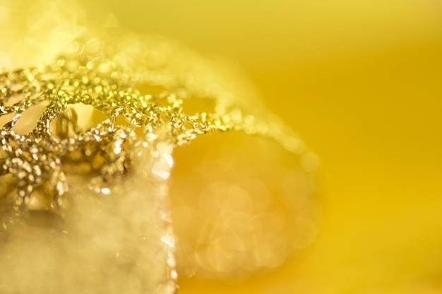 Lace of gold