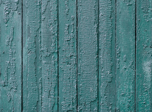 Lacquered wooden texture with blue paint