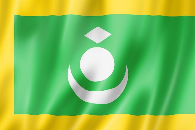 Ладакх, этнический флаг, азия
