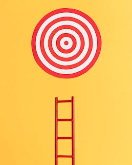 Ladder to reach target setted