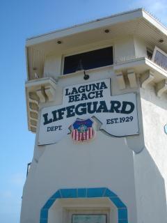 Laguna beach спасатель