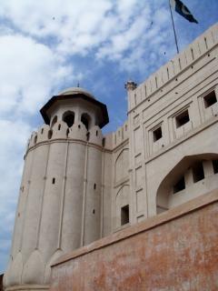 ラホールシャーヒー城砦、城砦、構造