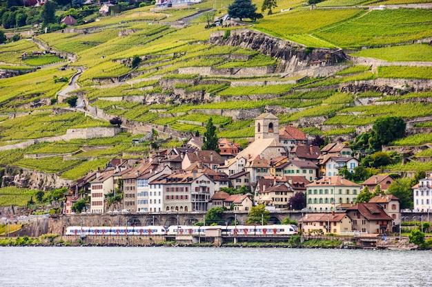 Lake geneva and villages