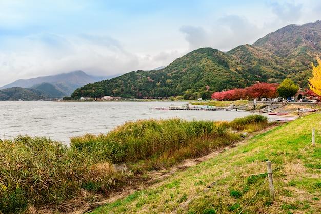 Lake kawaguchi (kawaguchiko)