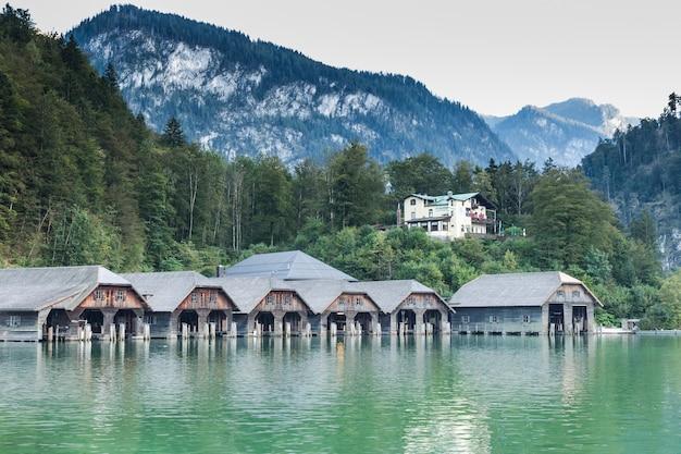 Lake koenigssee berchtesgaden bavaria germany
