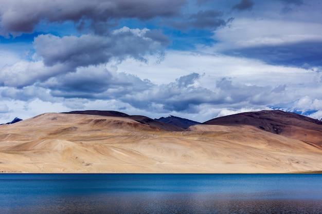 ツォモリリ湖、ラダック
