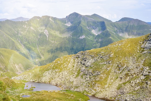 Lakes in fagaras mountains