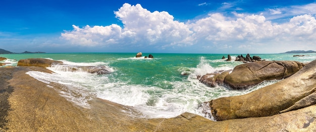 Пляж ламай на острове самуи в таиланде