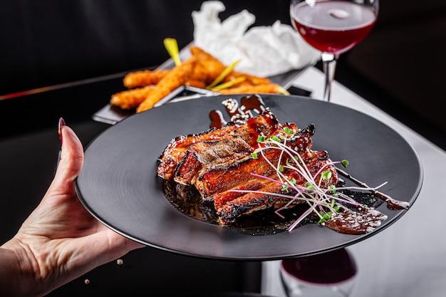 Lamb ribs for ramadan