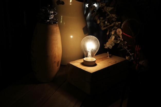 ランプの装飾
