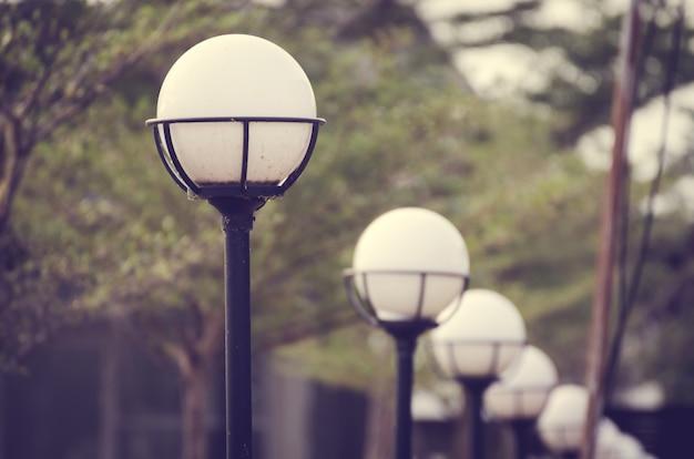 Lamp post street road light pole