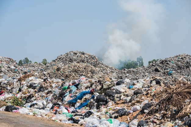 Landfill site in thailand