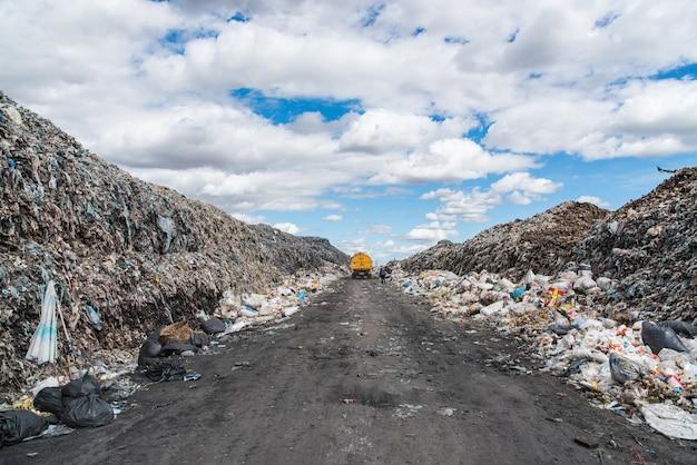 Экологическое загрязнение отходов полигона